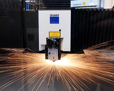 Laserschneiden cnc stanzen umformen schweissen dichtungsschäumen